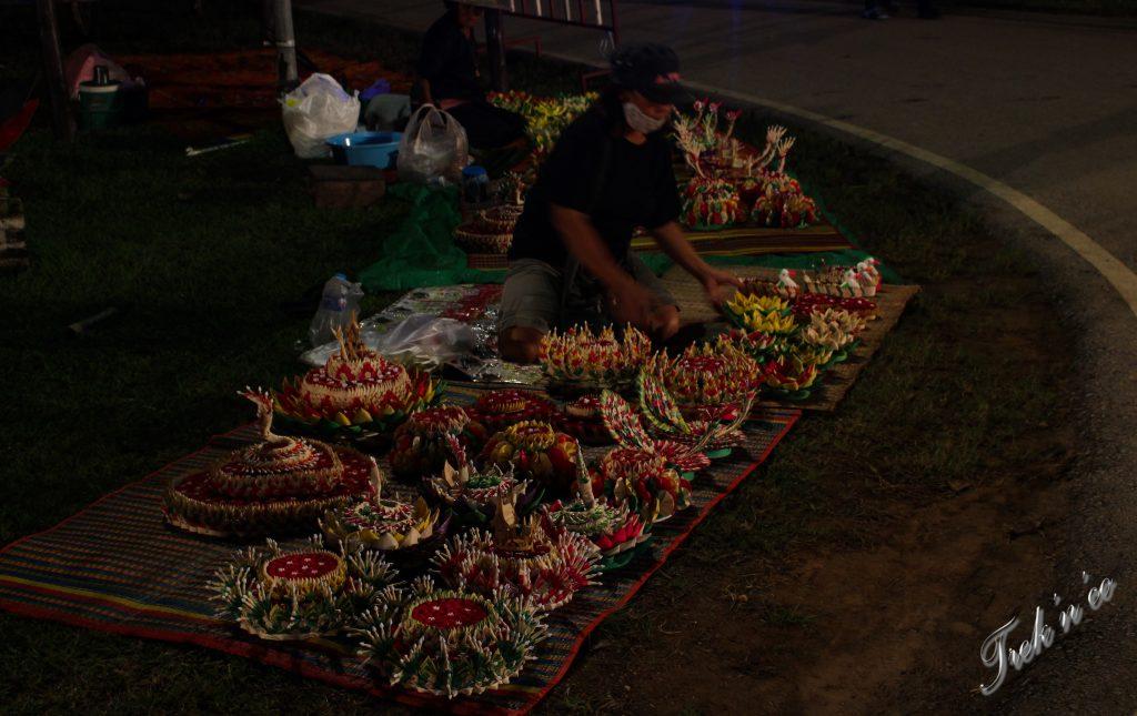 Marché loi krathong