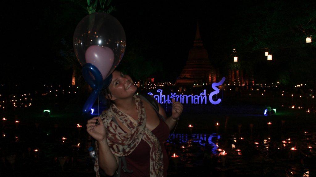 Elise fête loi Krathong