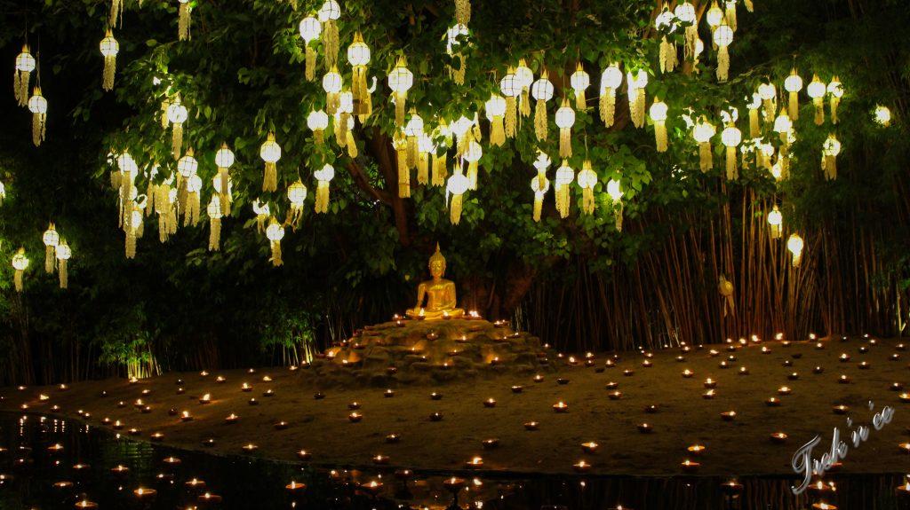 fêtes des lanternes Thaïlande