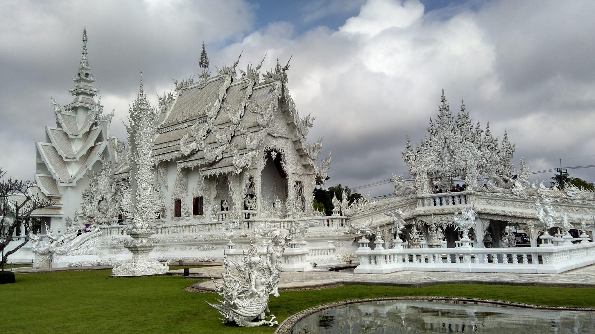 White Wat Thaïlande
