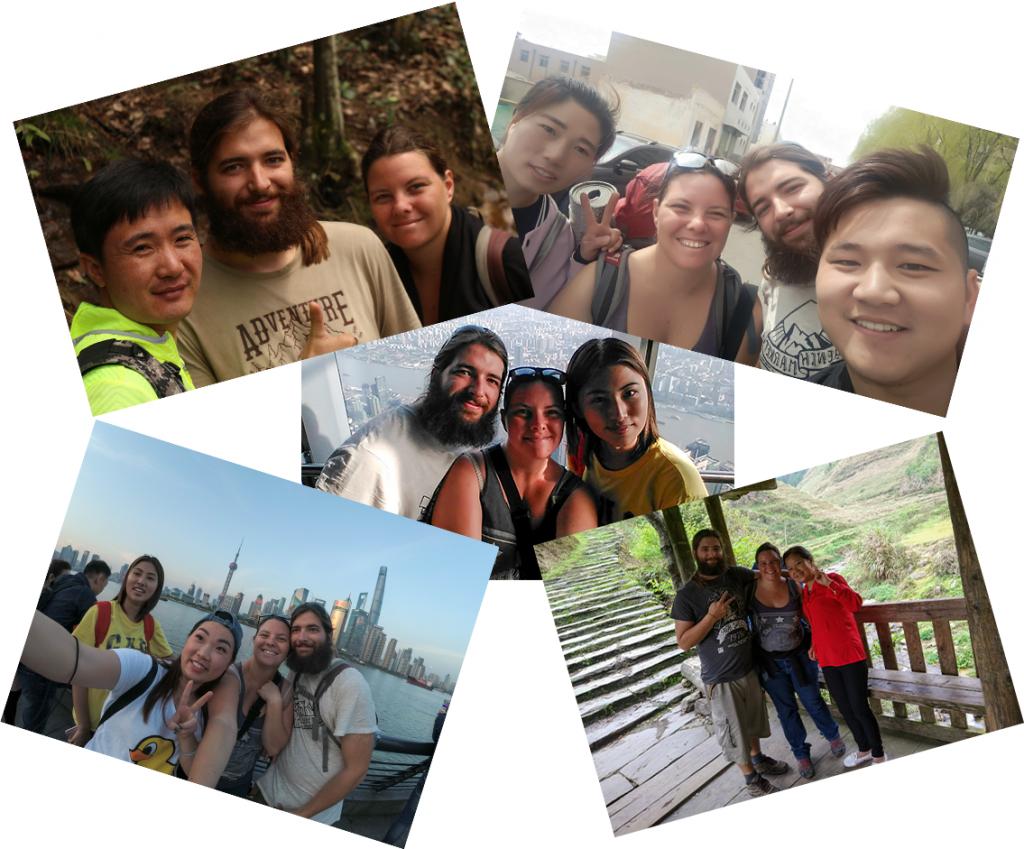 Personnes rencontrées en Chine