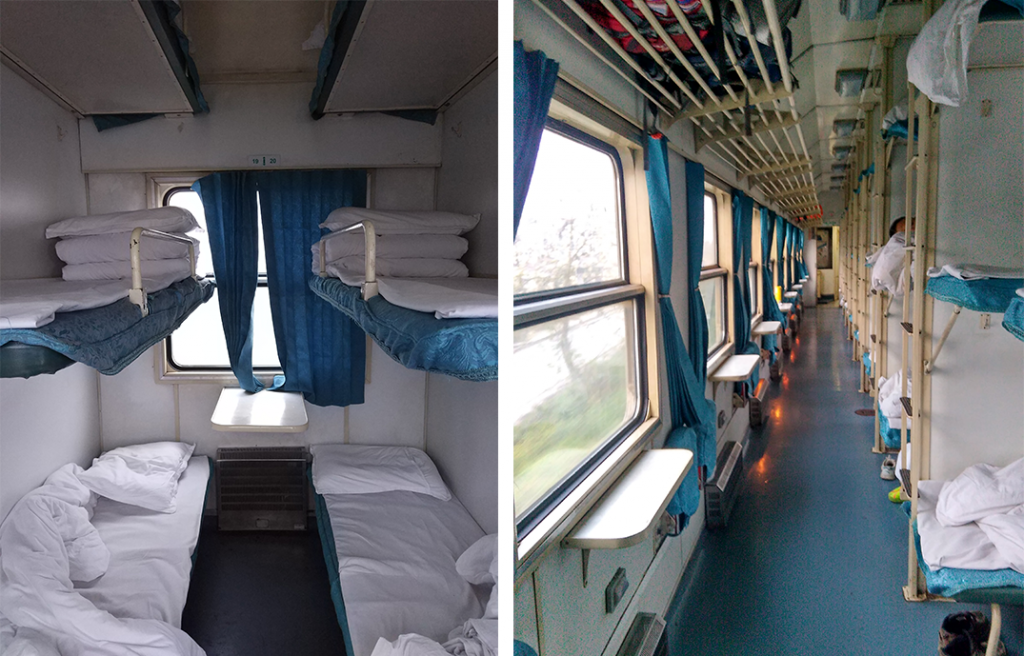Trains en Chine