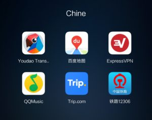 Miniature applications en chine