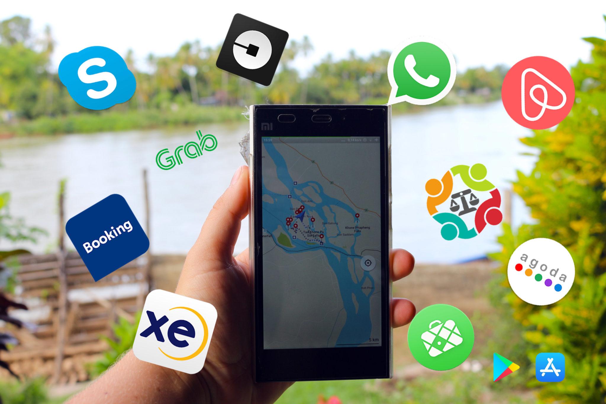 Miniature applications en voyage