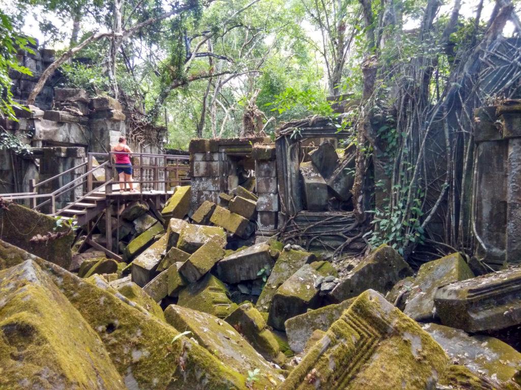 temple beng mealea parcours touristique