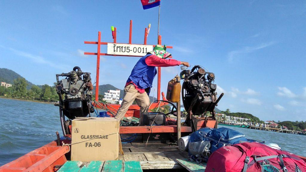 Bateau pour Koh Tonsay