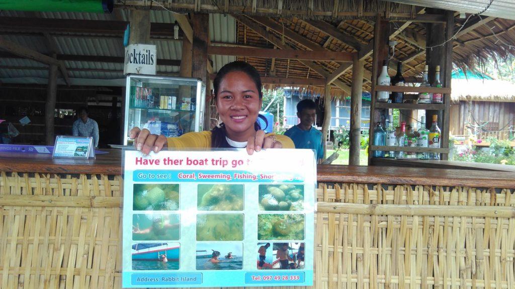 Boat trip Koh Tonsay