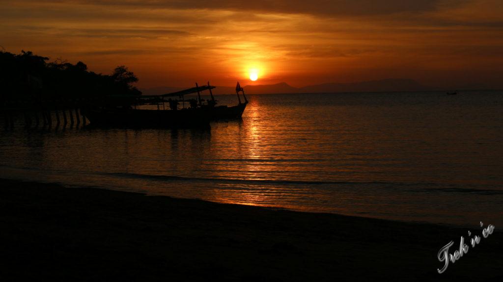 Sunset Koh Tonsay