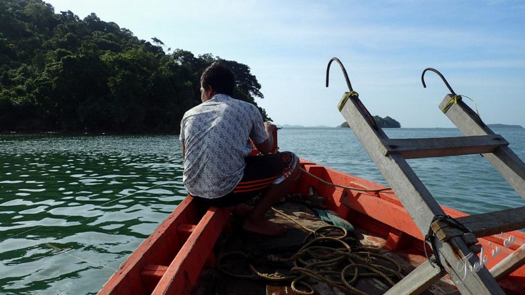 Bateau et batelier Koh Tonsay
