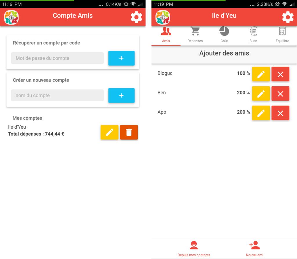 Screenshot comptesAmisV3