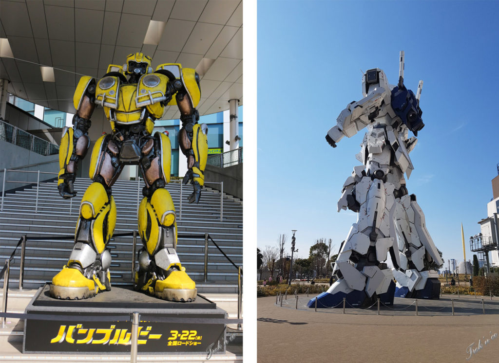 Tokyo robots à odaiba