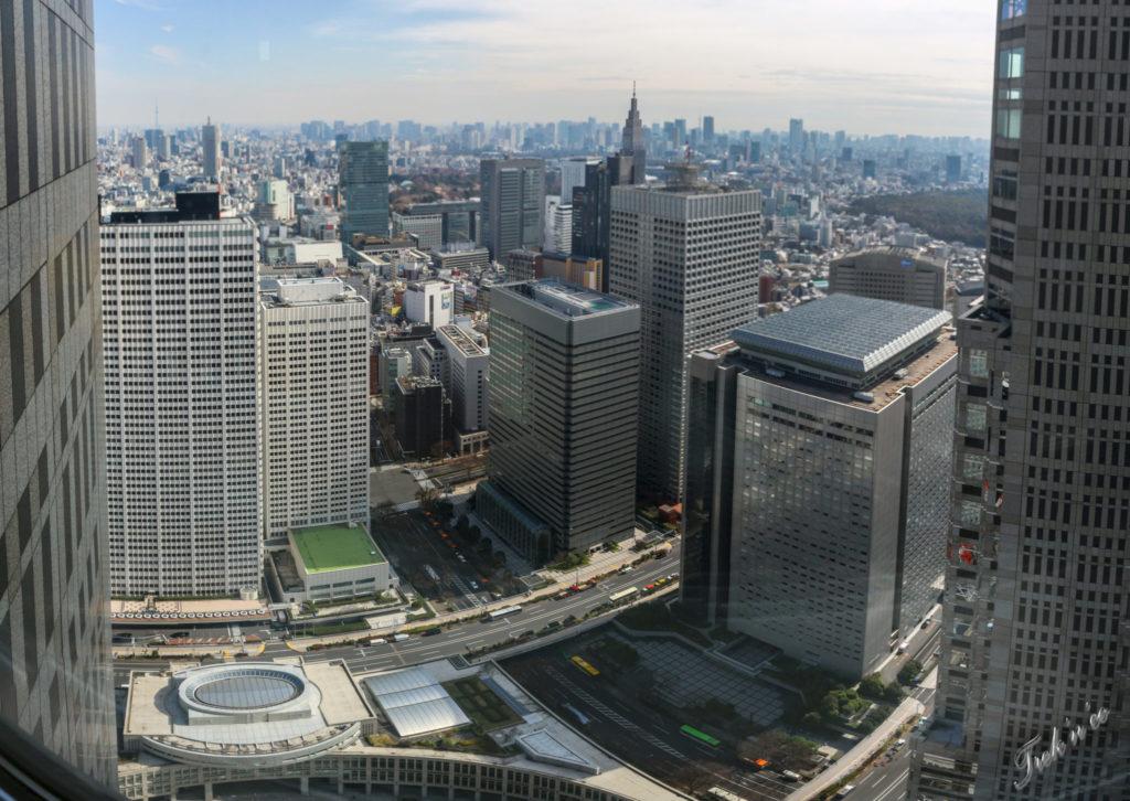 panorama tokyo metropolitan building