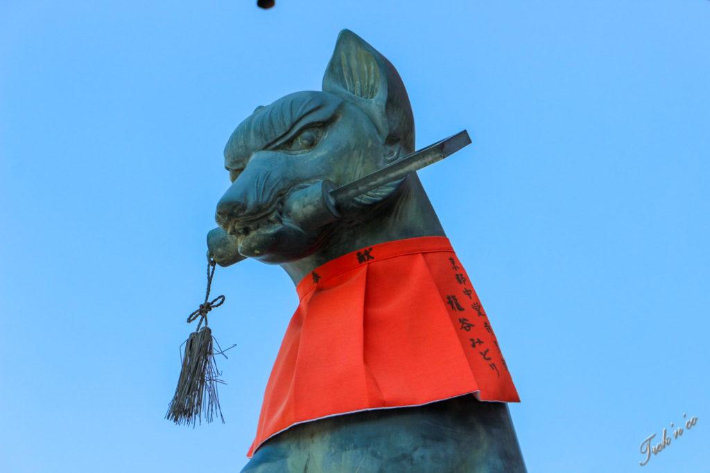 statue de kitsune