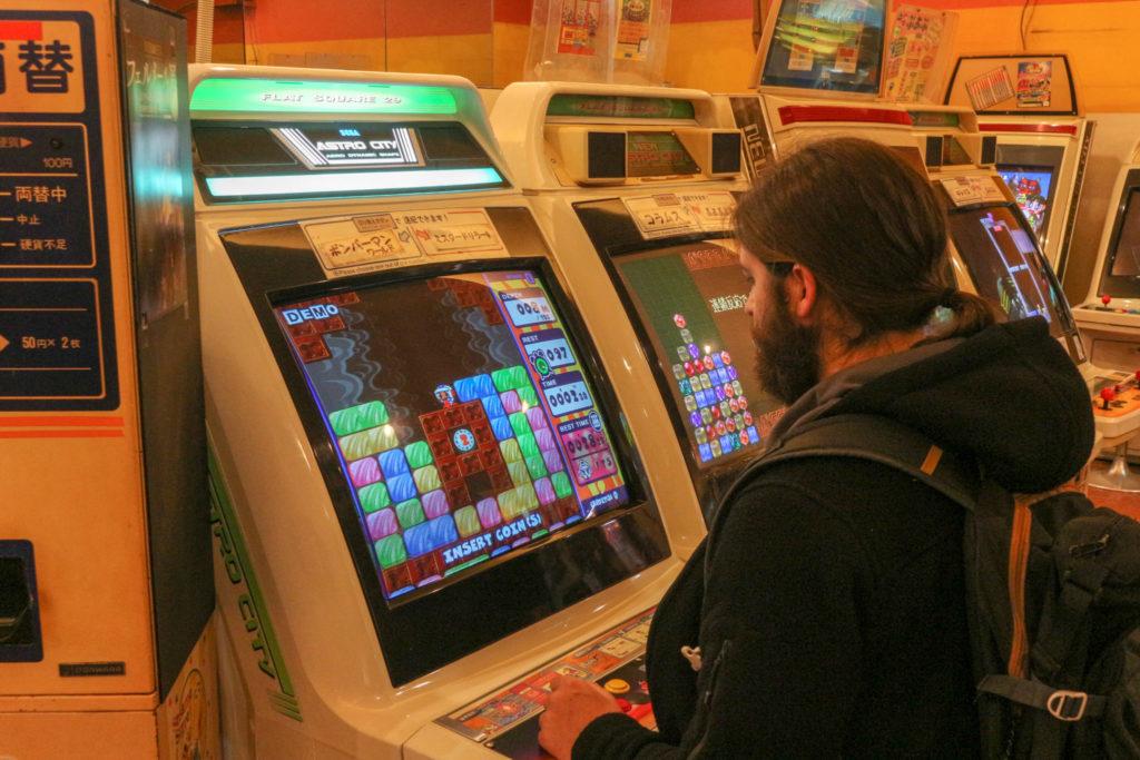 arcade jeux osaka